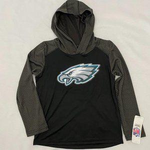 Philadelphia Eagles Hooded Pullover Shirt XS 4/5